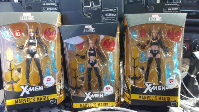 X-Men Legends Magik Walgreens Exclusive Figure Released