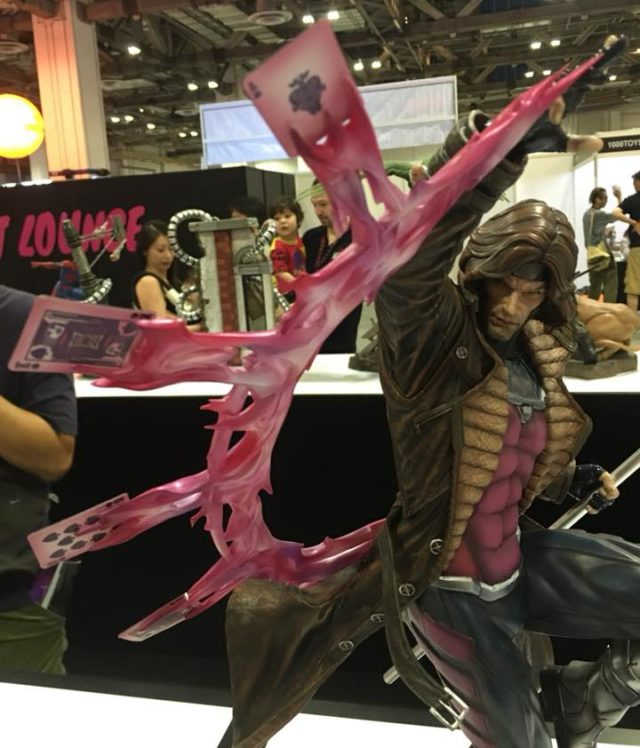 XM Studios Gambit Statue with Long Hair