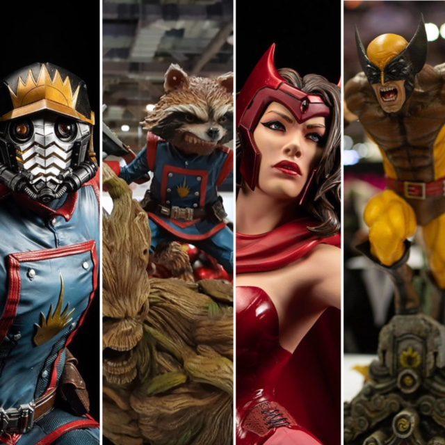 XM Studios Marvel Statues STGCC 2018