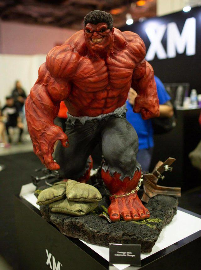 XM Studios Red Hulk Statue STGCC 2018