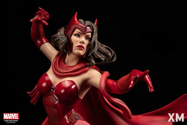 XM Studios Scarlet Witch Statue Close-Up