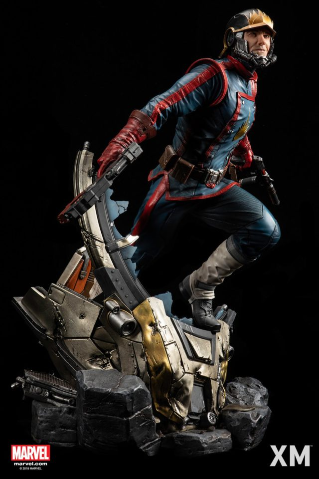 XM Studios Star-Lord Statue with Mask Off Peter Quill Head