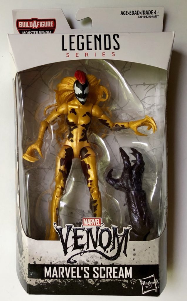 Marvel Legends Monster Series Venom Figure Packaged