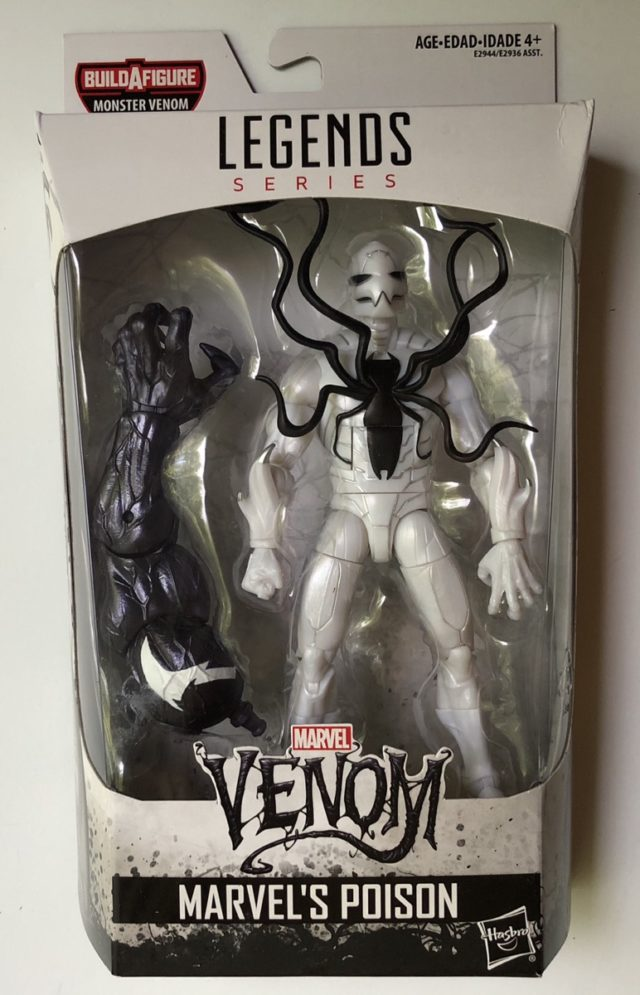 Marvel Legends Venom Series Poison Packaged
