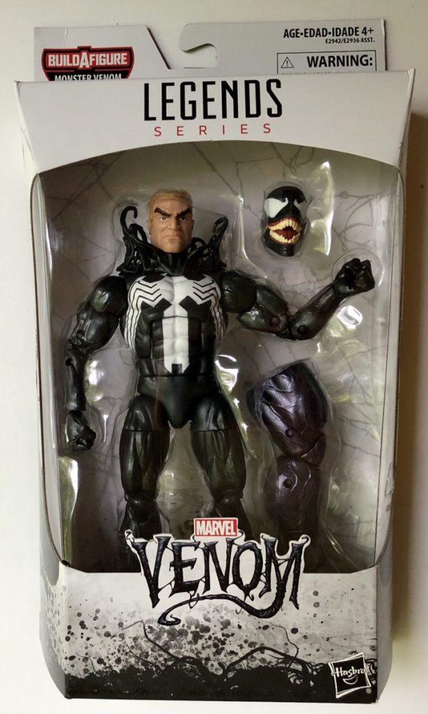 Hasbro Marvel Legends Venom Figure Monster Venom Series Packaged