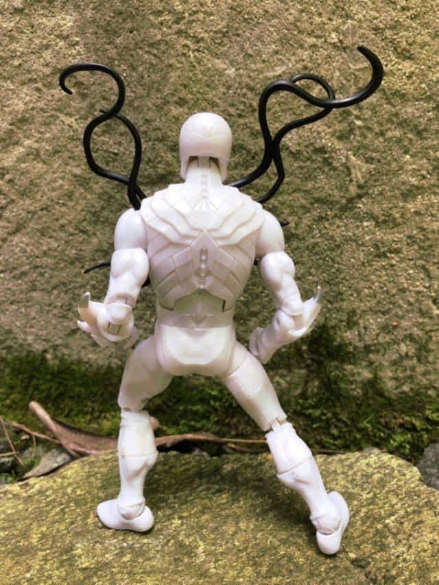 Back of Marvel Legends Poison Spider-Man Figure
