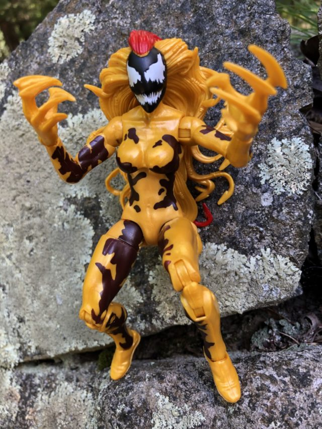 Venom Marvel Legends Scream Figure Crouching