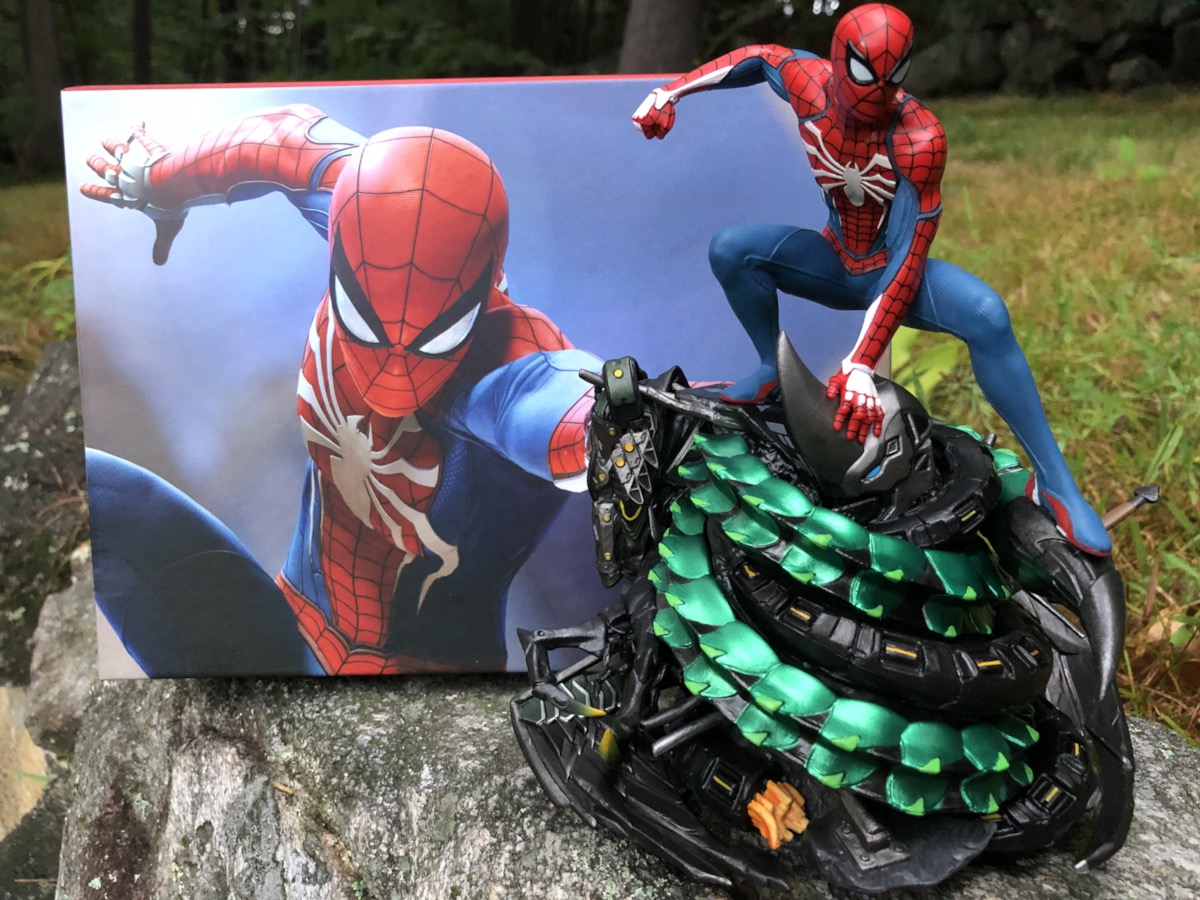"""7/"""" Limited PS4 Spider-Man Collectors Edition Statue Figure"""