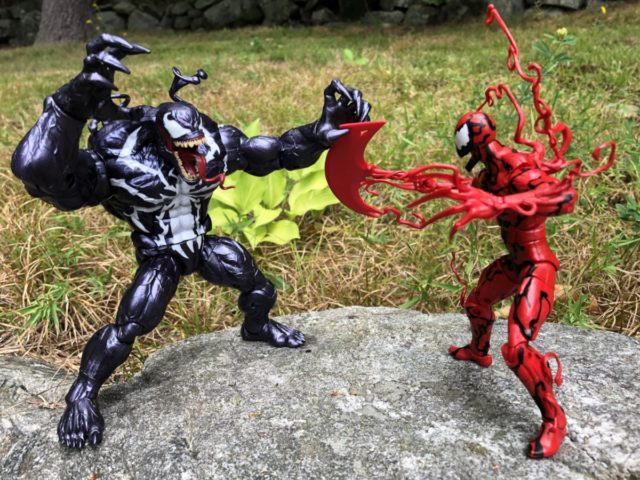 Marvel Legends Carnage vs Monster Venom Figure