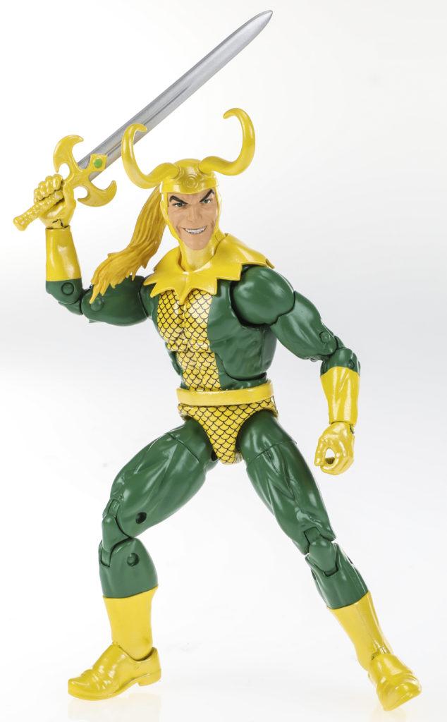 2019 Avengers Marvel Legends Loki Figure Classic Comics Based