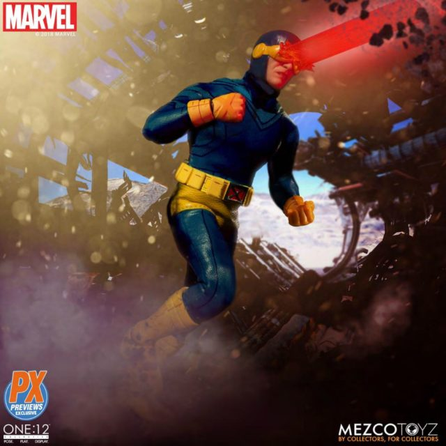 Classic Cyclops ONE 12 Collective Exclusive PX Mezco Toyz Figure