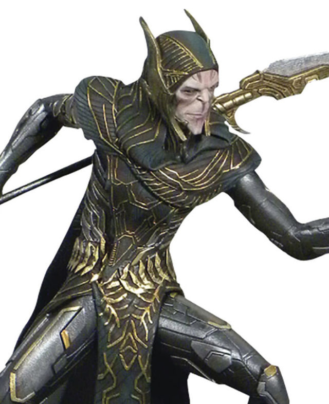 Close-Up of Marvel Gallery Corvus Glaive Black Order Figure