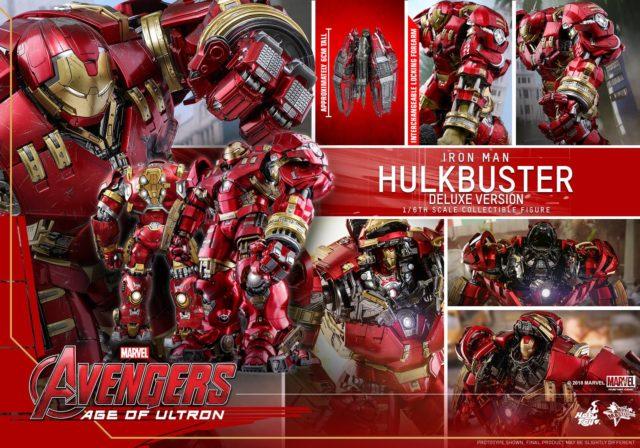 Hot Toys Deluxe Hulkbuster Iron Man Reissue 2020