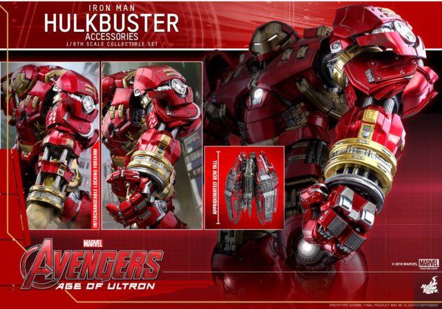 Hot Toys Hulkbuster Iron Man Accessories Set Upgrade Kit