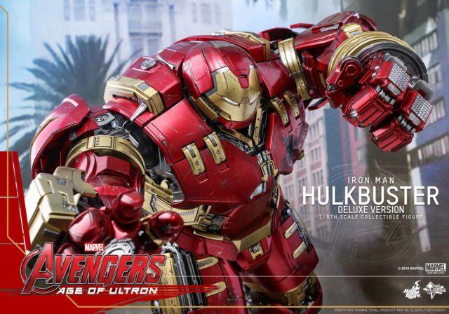 Hulkbuster Iron Man Hot Toys Deluxe Version Figure