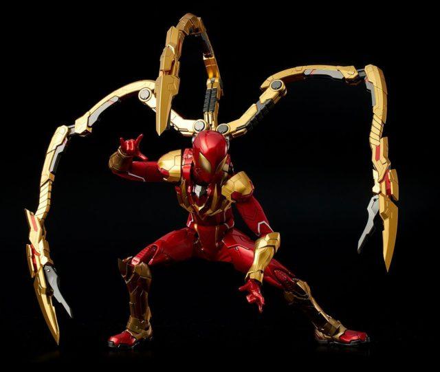Iron Spider RE EDIT Sentinel Figure Posing
