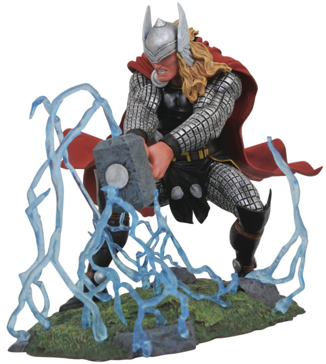 Marvel Gallery Thor & Free Comic Book Day Symbiote Spider
