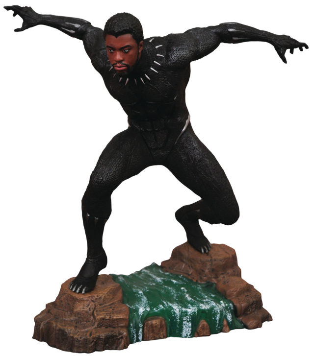 Marvel Gallery Unmasked Black Panther Statue