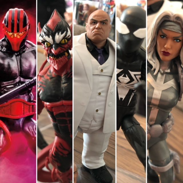 Marvel Legends NYCC 2019 Kingpin Series Spider-Man Wave