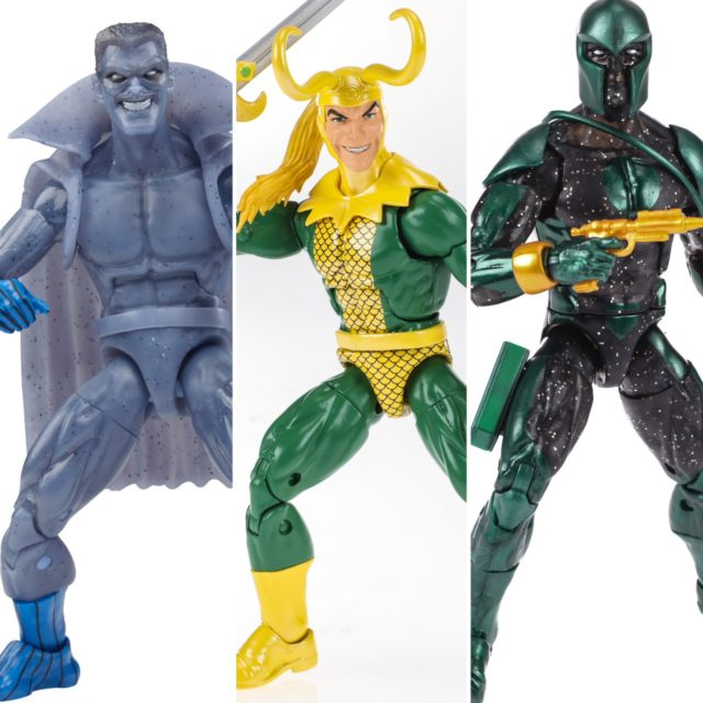 Marvel Legends Paris Comic Con Reveals Loki Grey Gargoyle Genis Vell