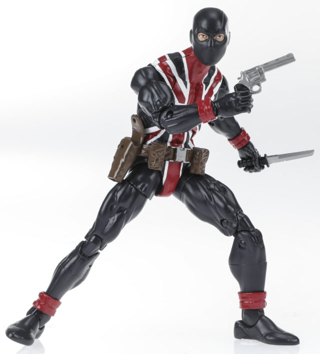 Marvel Legends Series 6-inch Union Jack Figure (Avengers wave)