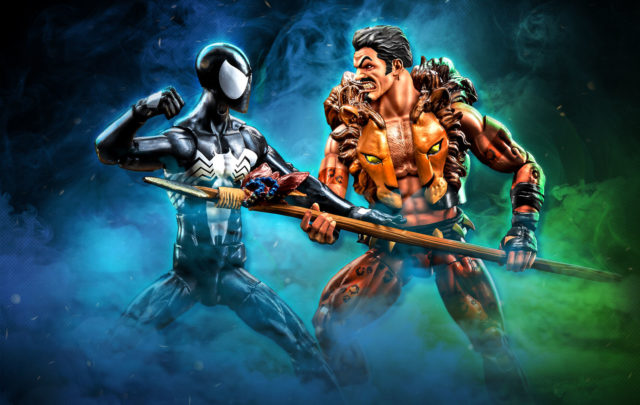 Marvel Legends Spider-Man vs Kraven 2-Pack Official Photo