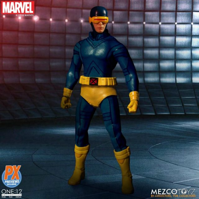 ONE 12 Collective Classic Cyclops Mezco Figure Previews Exclusive