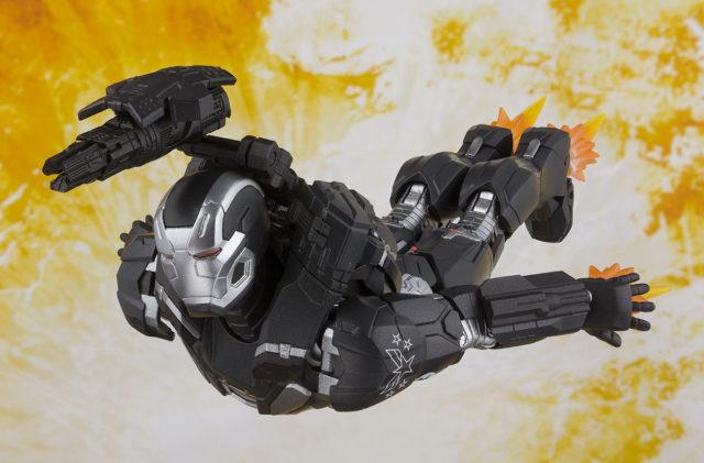 SH Figuarts Infinity War War Machine Figure Flying