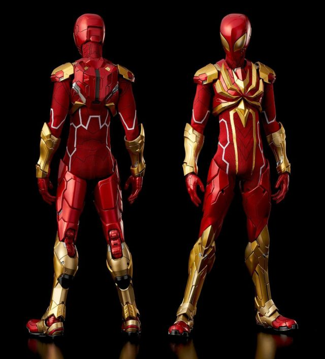 Sentinel Iron Spider Spider-Man Figure REEDIT without Arms