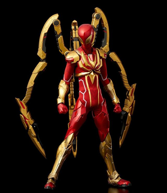 Sentinel Re Edit Iron Spider Action Figure Pre-Order