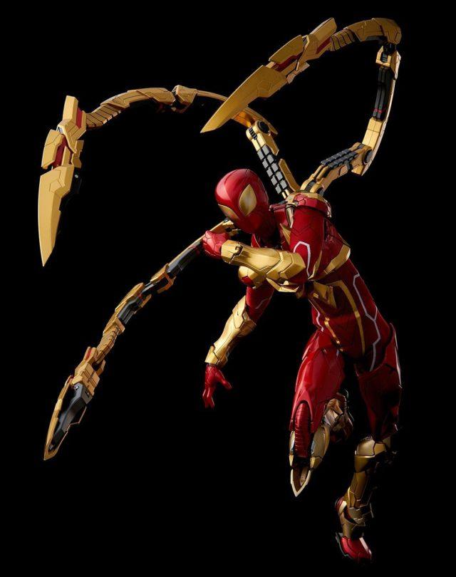 Sentinel Spider-Man Iron Spider REEDIT Figure Running Pose