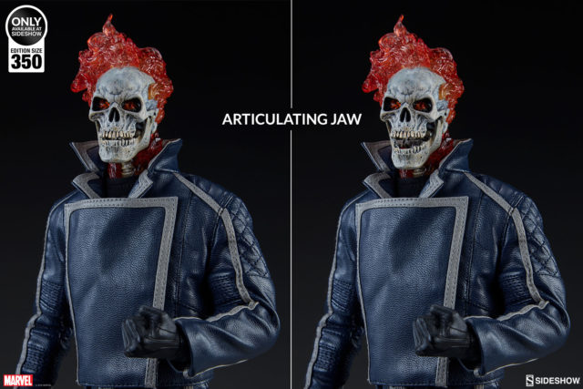 Sideshow Ghost Rider Classic Articulated Jaw Sixth Scale Figure