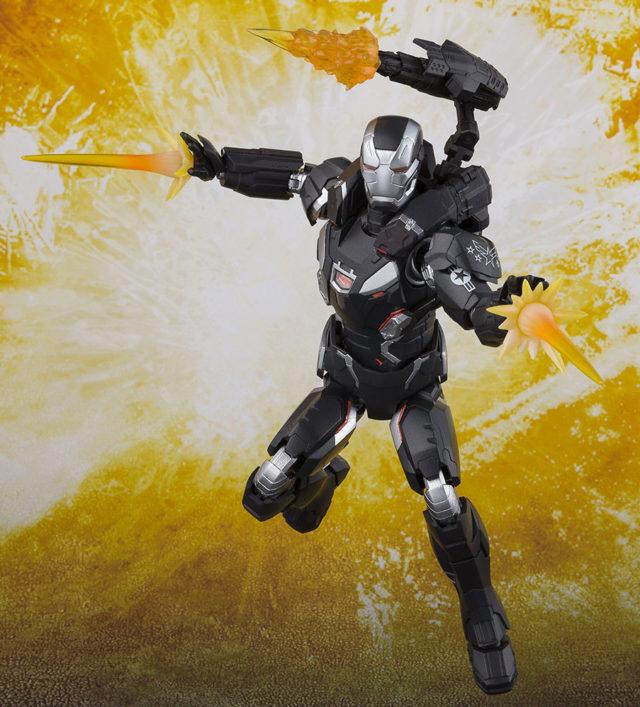 War Machine SH Figuarts Avengers Infinity War Figure Effects Pieces