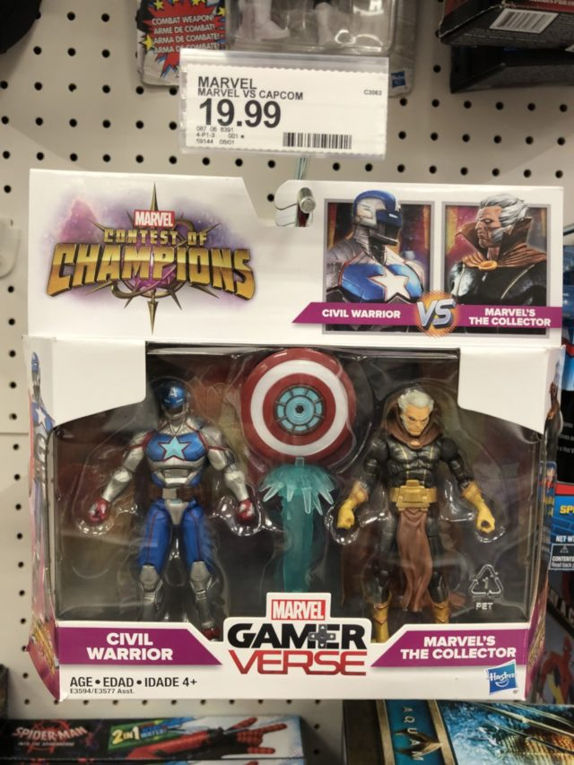 Contest of Champions Civil Warrior vs. Collector Figures Two-Pack