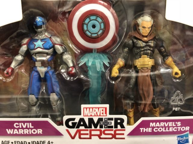 Close-Up of Marvel GamerVerse Civil Warrior vs. The Collection Two-Pack