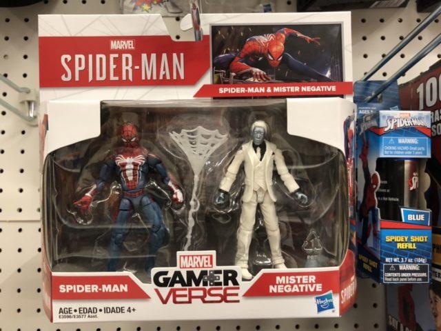 Spider-Man vs. Mr. Negative Hasbro GamerVerse Figures