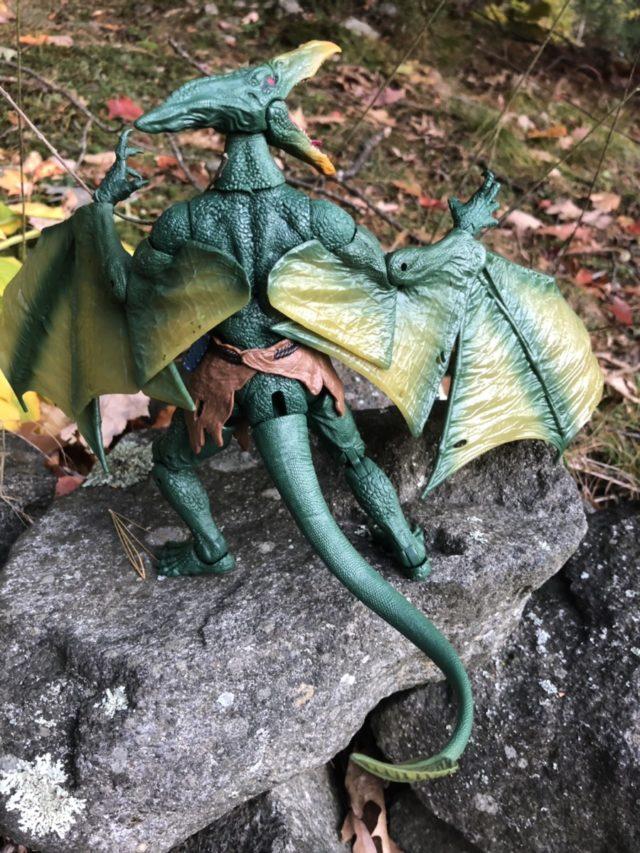 Back of Sauron Marvel Legends Build-A-Figure