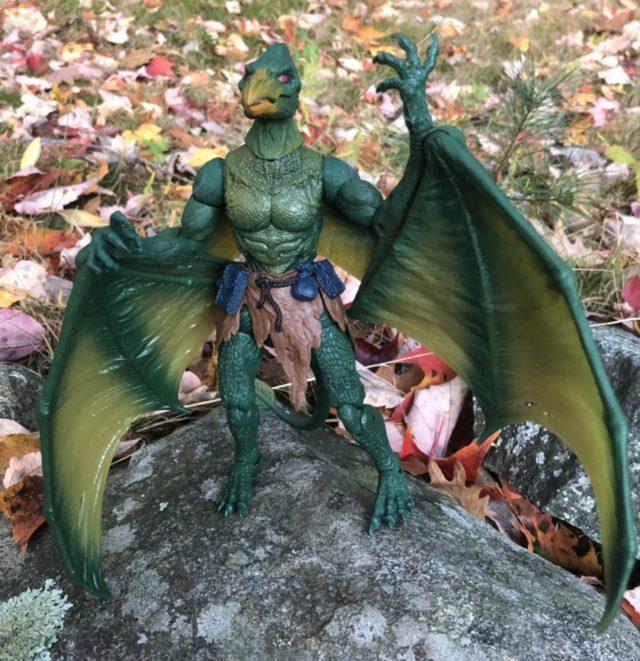 Marvel Legends Sauron Series Build-A-Figure Mouth Closed