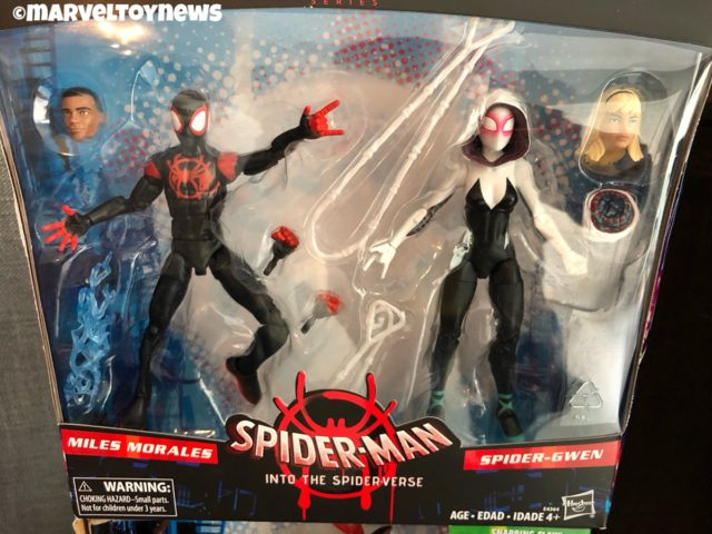 Marvel Legends Into the Spider-Verse Two-Pack