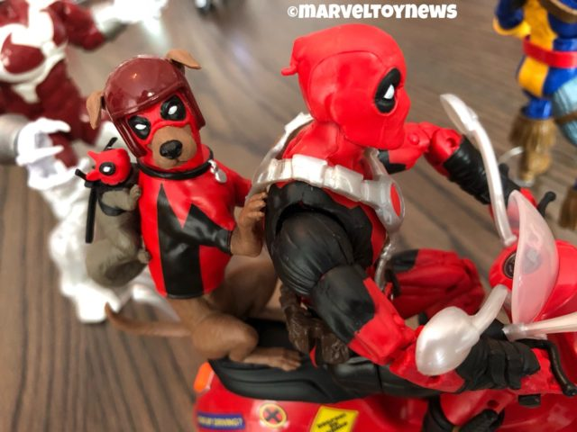 Marvel Legends Deadpool Squirrelpool Dogpool on Scooter Set