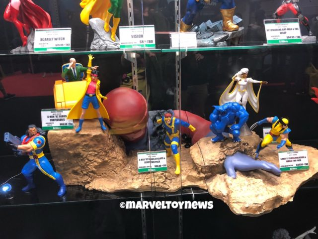 Kotobukiya X-Men 92 ARTFX Statues Display at New York Comic Con 2018