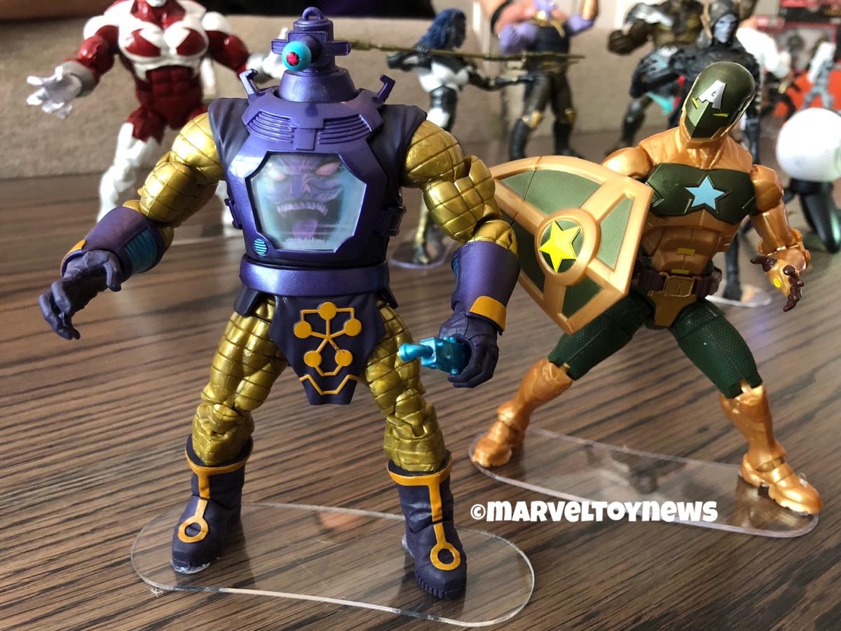 Hasbro LEGENDS SERIES Marvel Hydra HYDRA SUPREME et Arnim Zola