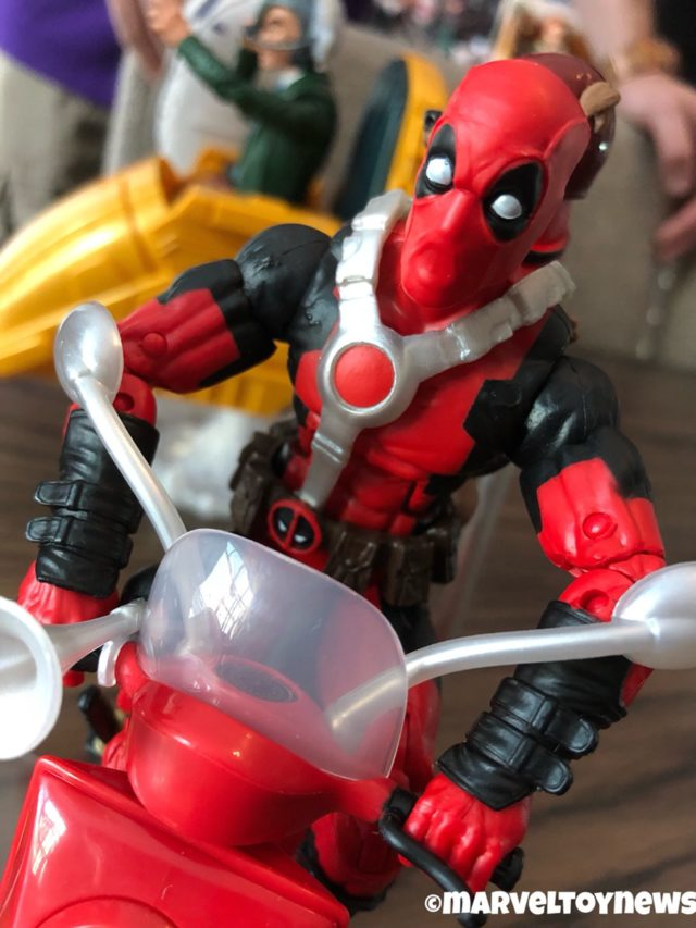 Marvel Legends 2019 Deadpool Motorcycle Riders Set