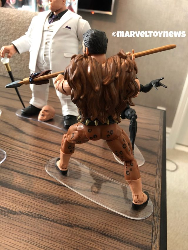Back of 2019 Marvel Legends Kraven the Hunter Figure