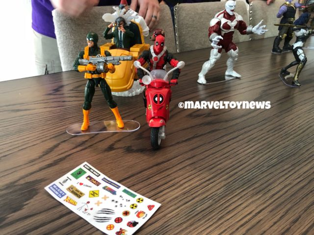 Marvel Legends Riders Deadpool on Scooter Set with Hydra Bob