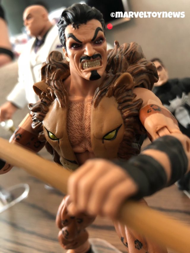 Close-Up of Kraven Marvel Legends 2019 Action Figure