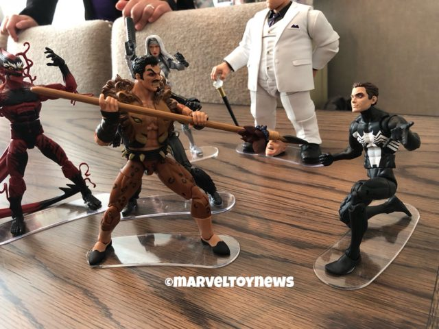NYCC 2018 Marvel Legends Kraven vs. Symbiote Spider-Man Figures Two-Pack