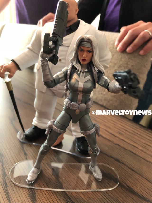 Marvel Legends NYCC 2018 Silver Sable Figure