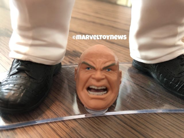 2019 Marvel Legends Kingpin Angry Head