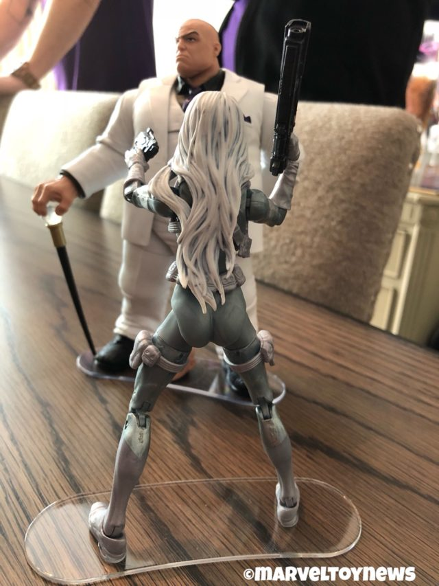 Hasbro Silver Sable Marvel legends 2019 Figure